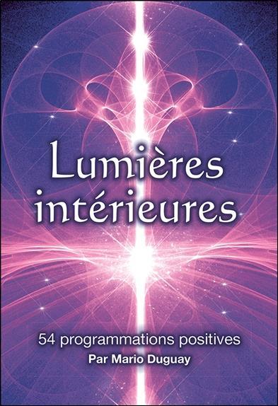 Lumieres intérieures : 54 programmations positives ; coffret