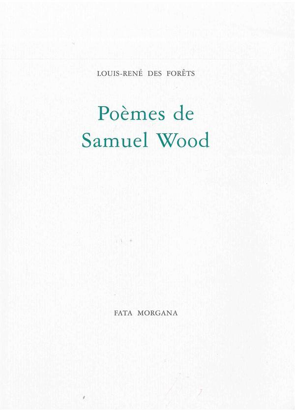 poèmes de Samuel Wood