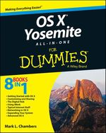 Vente Livre Numérique : OS X Yosemite All-in-One For Dummies  - Mark L. CHAMBERS