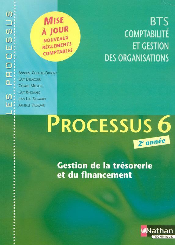 Processus 6 Bts Cgo 2eme Annee -Gestion De La Tresorerie Et Du Financement- Les Processus