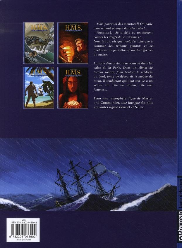H.M.S. - his majesty's ship t.4 ; le secret de la perle