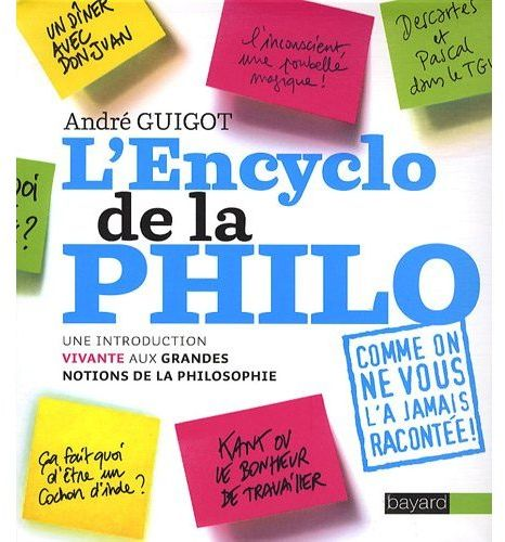 Encyclo de la philo ; une introduction vivante aux grandes notions de la philosophie