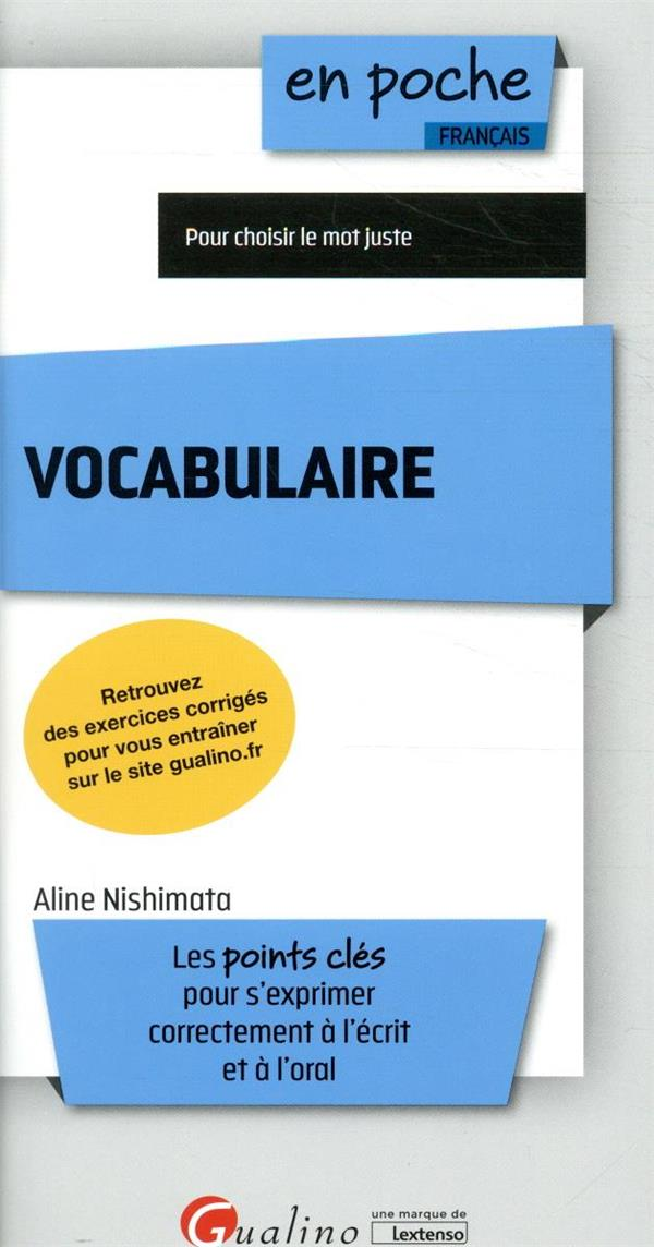 Vocabulaire (7e édition)
