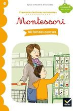 Vente EBooks : Premières lectures autonomes Montessori Niveau 3 - Nil fait des courses  - Stéphanie Rubini