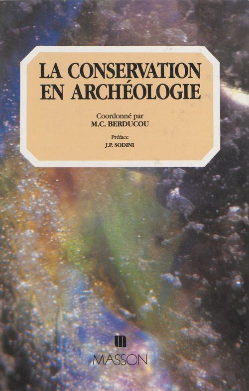 La conservation en archeologie