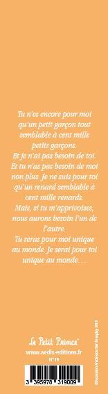Marque-page Le Petit Prince T.18