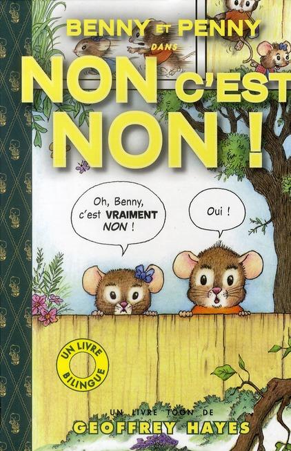 Toon books t.5 ; Benny et Penny dans non c'est non !
