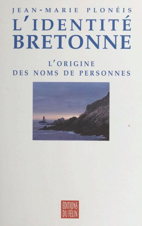 L'identite bretonne