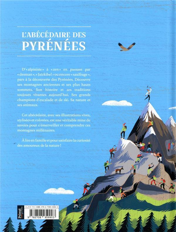 L'abécédaire des Pyrénées ; un abécédaire illustré