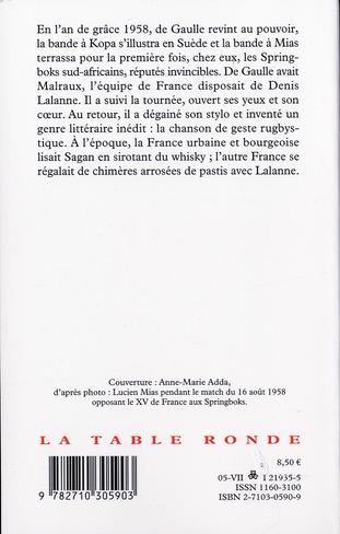 Le grand comat du XV de France