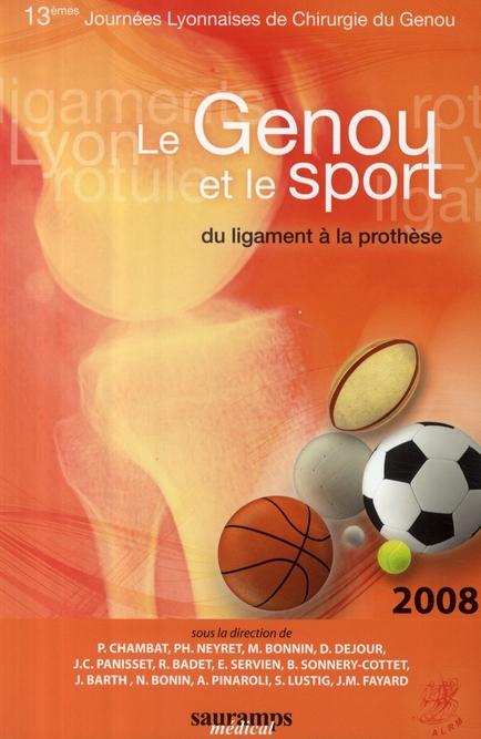 Le genou et le sport ; du ligament à la prothèse
