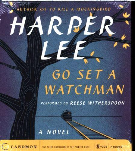 GO SET A WATCHMAN - 6 CDS UNABRIDGED. PERFORMED BY REESE WITHERSPOON