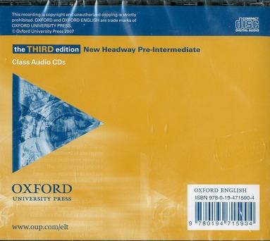 New headway pre-intermediate (3e edition)