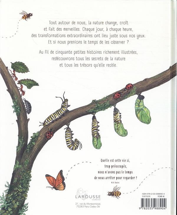 Les secrets de la nature ; 50 petites histoires pour prendre le temps de s'émerveiller