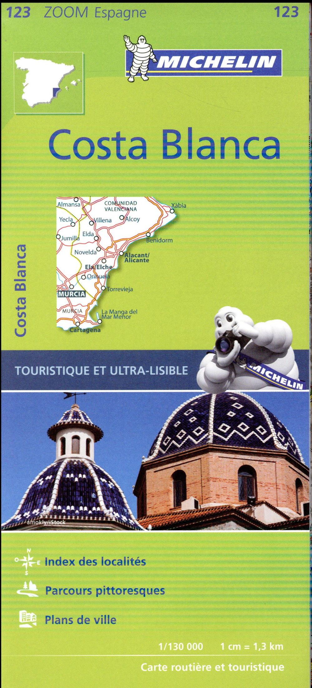 Costa Blanca Collectif Michelin Michelin Carte Plan