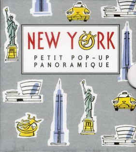 Petit pop-up panoramique t.2 ; New York