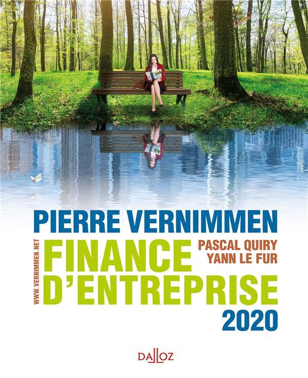 Finance d'entreprise (édition 2020)