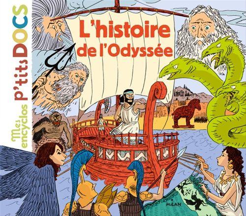 Vente Livre Numérique : L'histoire de l'Odyssée  - Stéphane Frattini  - Stéphanie Ledu