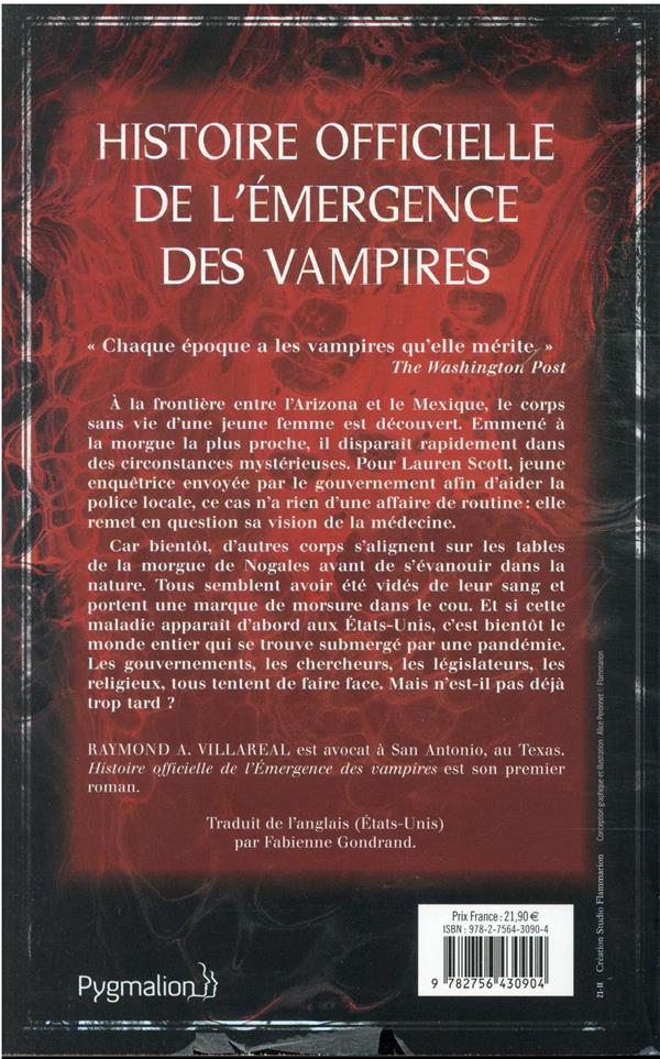 Histoire officielle de l'emergence des vampires