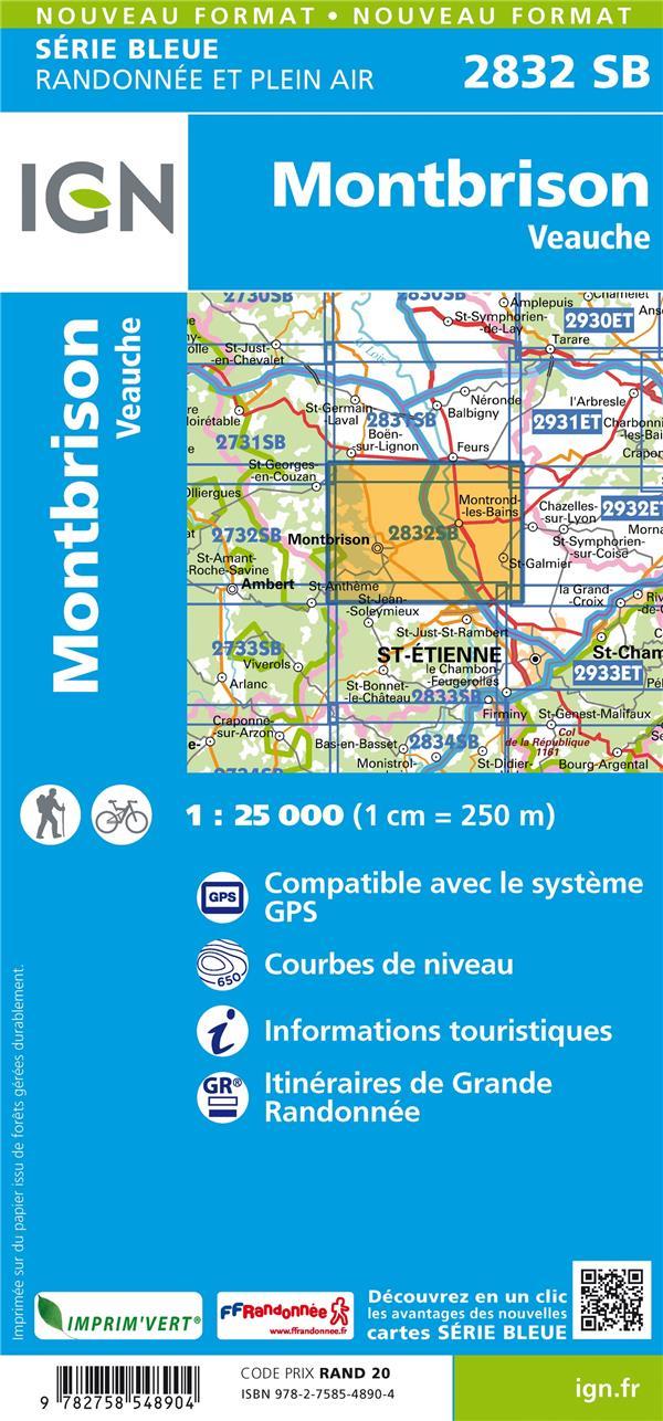 2832SB ; Montbrison, Veauche