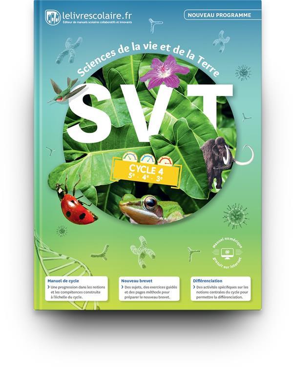 SVT ; cycle 4 (édition 2017)