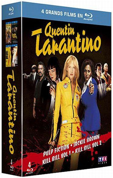 Quentin Tarantino - Coffret - Pulp Fiction + Jackie Brown + Kill Bill Vol. 1 + 2