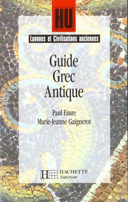 Guide Grece Antique