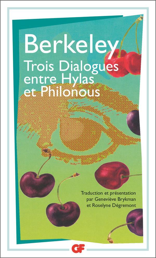 Trois dialogues entre hylas et philonous