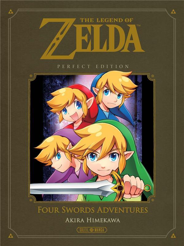THE LEGEND OF ZELDA - PERFECT EDITION  -  FOUR SWORDS ADVENTURES Himekawa Akira