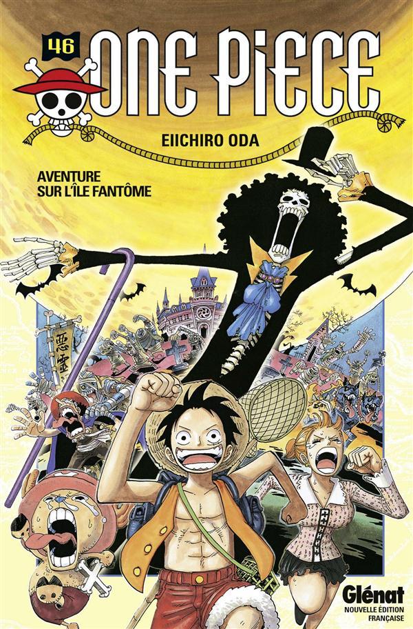 ONE PIECE - EDITION ORIGINALE - TOME 46 - AVENTURE SUR L'ILE FANTOME Oda Eiichiro