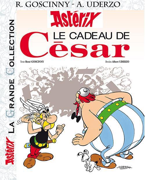 Astérix T.21 ; le cadeau de César