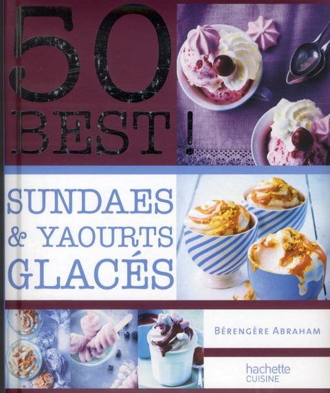 sundae et yaourts glacés