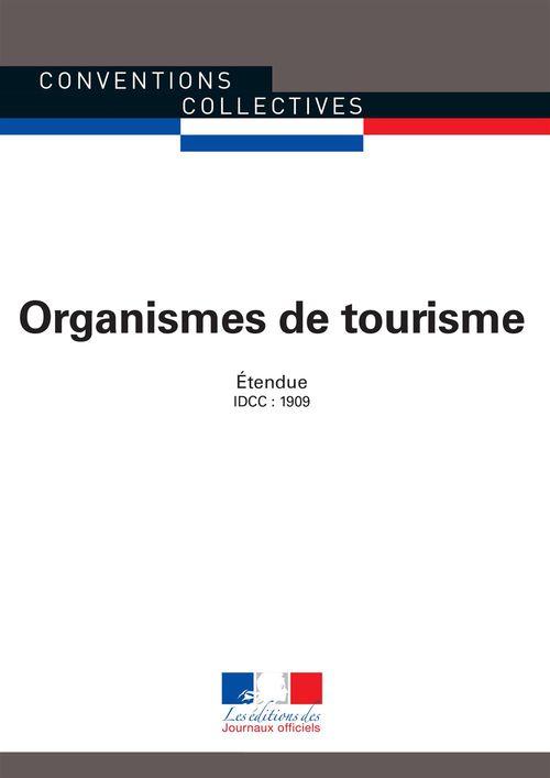 Organismes de tourisme ccn 3175