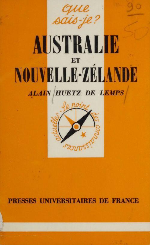 Australie et Nouvelle-Zélande  - Alain Huetz De Lemps