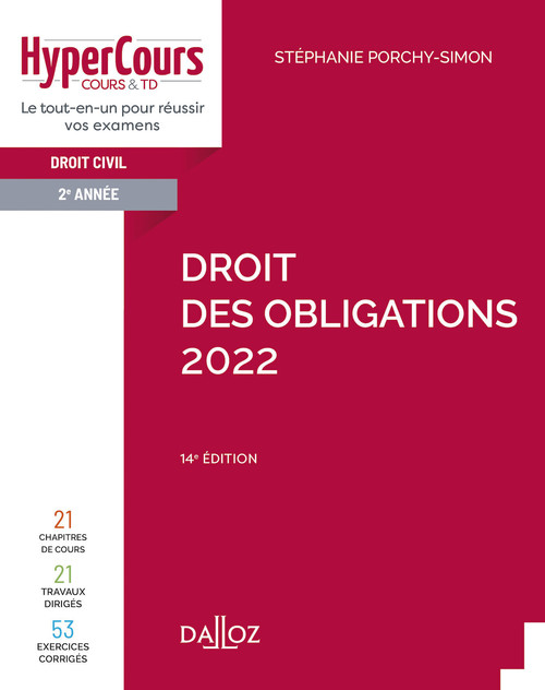 droit des obligations (édition 2022)