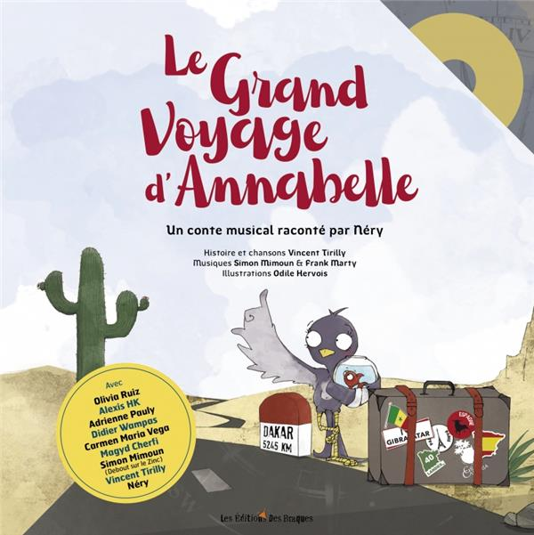 LE GRAND VOYAGE D'ANNABELLE TIRILLY VINCENT