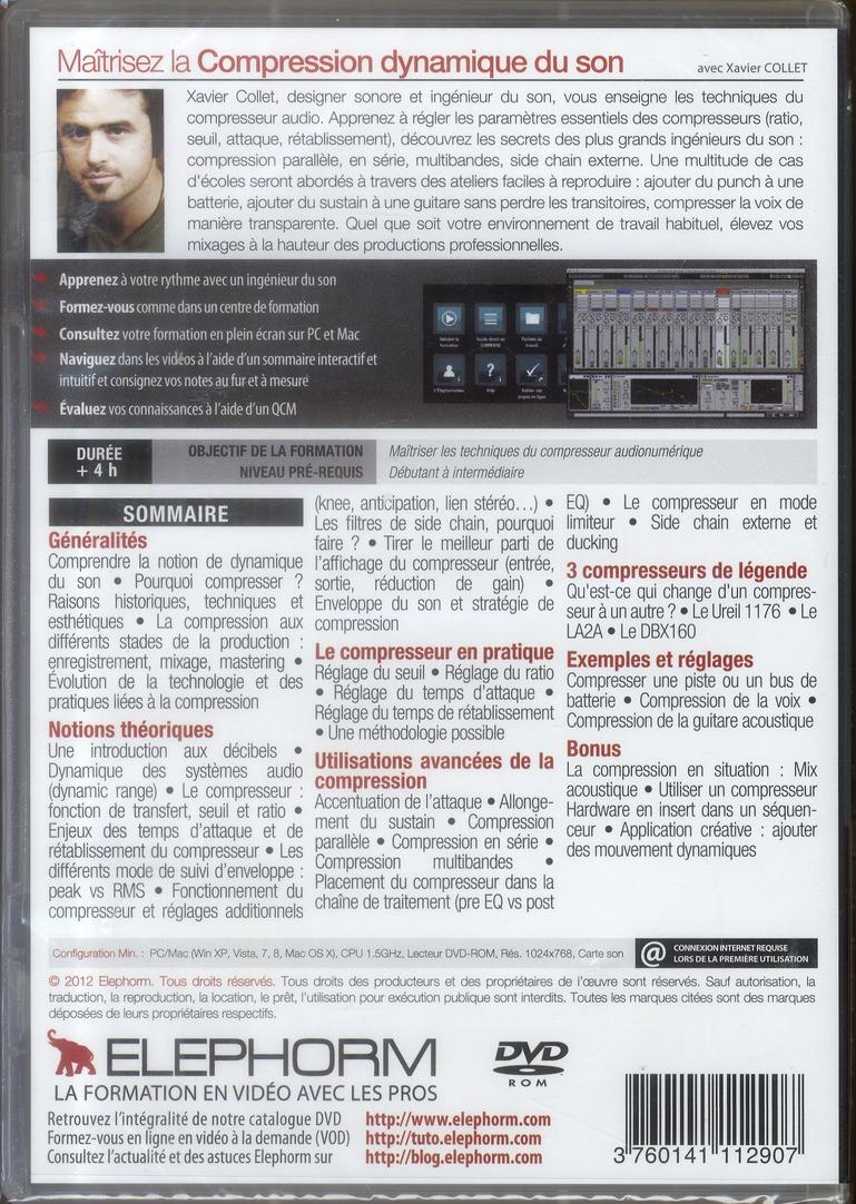 maîtrisez la compression dynamique du son