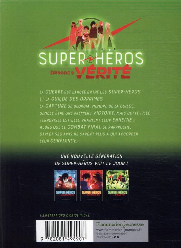 Lego DC comics - super heroes ; vérité