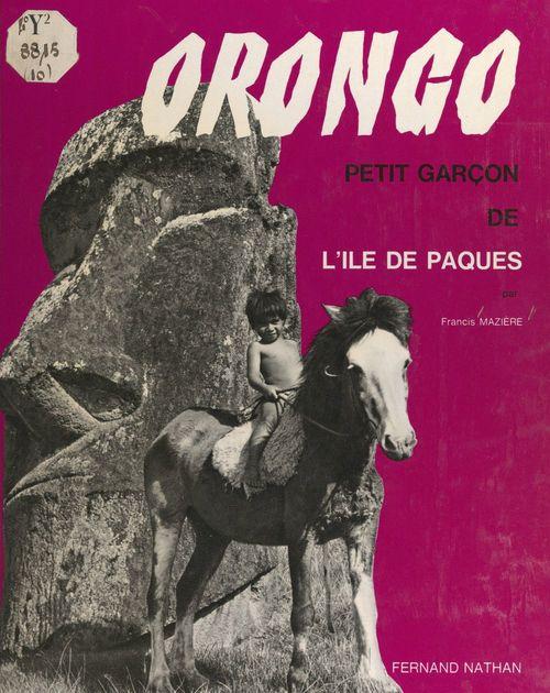 Orongo, petit garçon de l'Île de Pâques