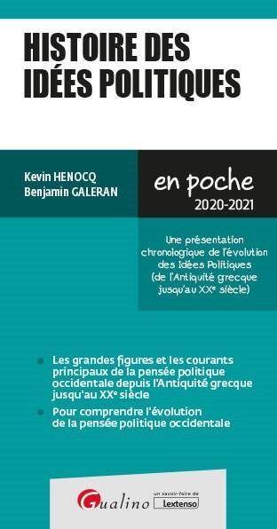 Histoire des idées politiques (édition 2020/2021)