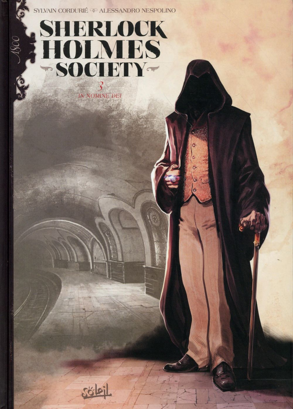 Sherlock Holmes Society T.3 ; in nomine dei