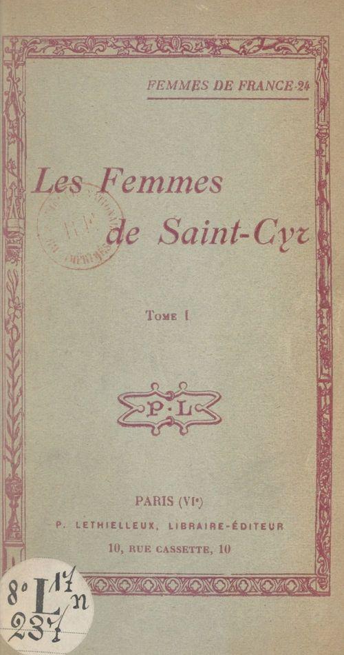 Les femmes de Saint-Cyr (1)