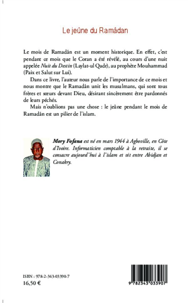 Le jeüne du Ramâdan