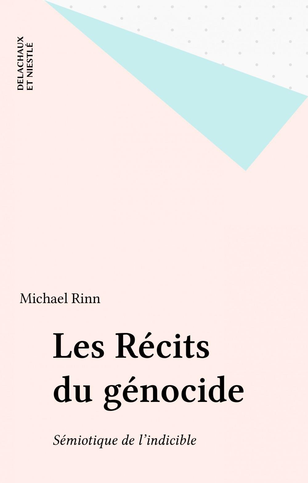 Recits du genocide (les)