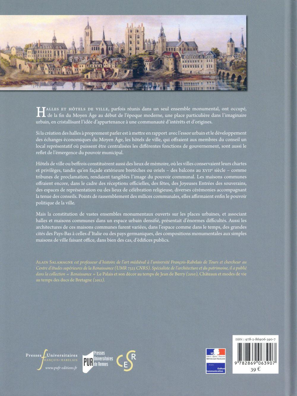 Hôtels de ville, architecture publique à la Renaissance