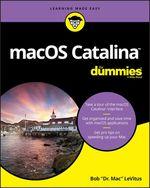 Vente Livre Numérique : MacOS Catalina For Dummies  - Bob LEVITUS