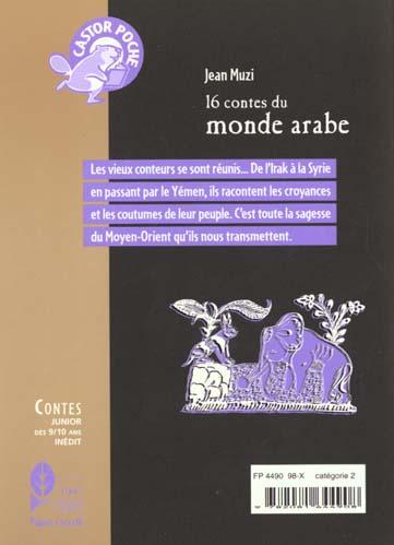 16 contes du monde arabe - - junior, des 9/10ans