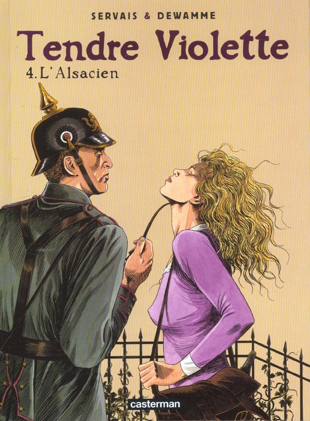 Tendre Violette T.4 ; l'Alsacien