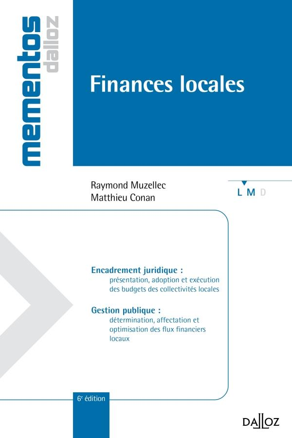 Finances Locales (6e Edition)