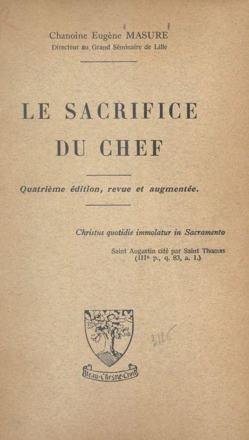 Le sacrifice du chef